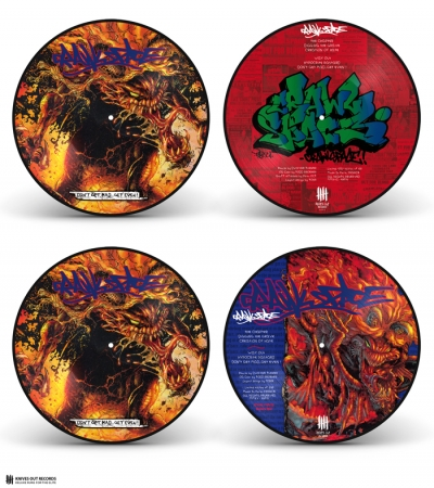 CRAWLSPACE Dont Get Mad...Get Even ! double picture disc vinyl