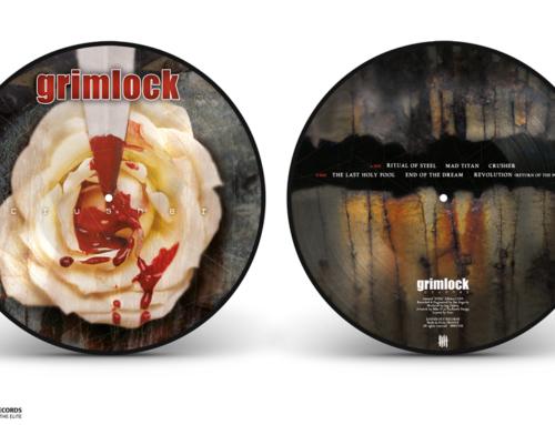 """GRIMLOCK """"Crusher"""" Picture Disc vinyl """"Steel"""" Edition"""