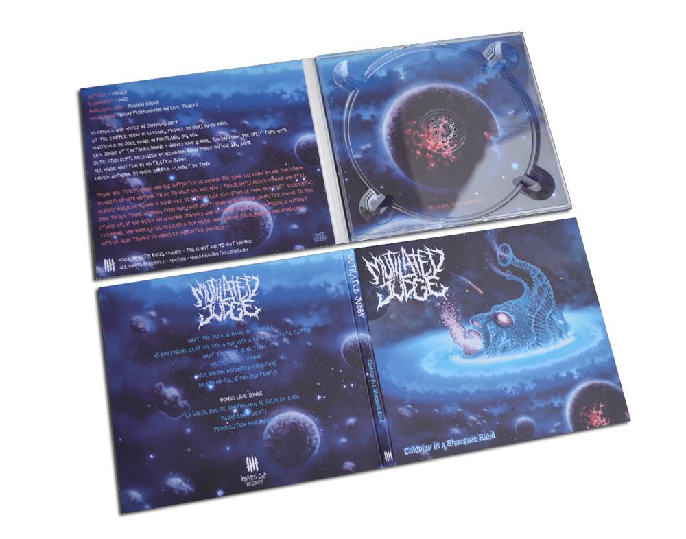 MUTILATED JUDGE Coldplay Is A Shoegaze Band digipack CD