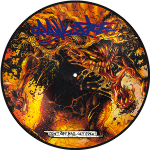 CRAWLSPACE Dont Get Mad, Get Even ! picture disc, A side