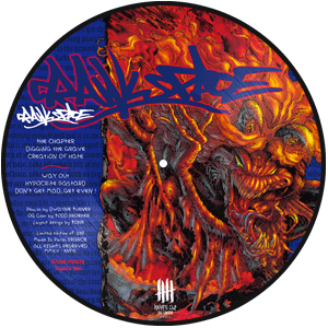 CRAWLSPACE Dont Get Mad, Get Even ! picture disc, B side