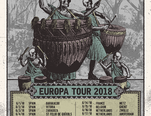 GORE AND CARNAGE x MUTILATED JUDGE Euro Tour 2018