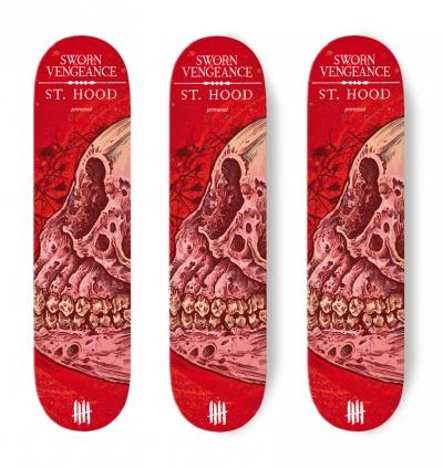 KNIVES OUT SKATEBOARDS Sworn Vengeance/St Hood