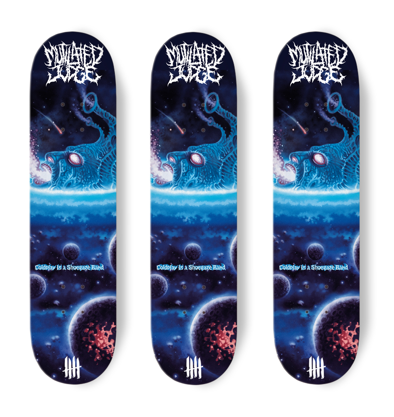 KNIVES OUT SKATEBOARDS Mutilated Judge