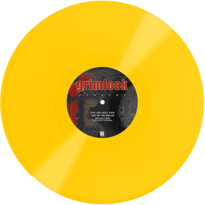 GRIMLOCK Crusher, yellow - B side