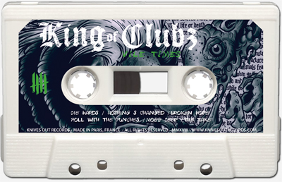 KING OF CLUBZ Cassette tape A