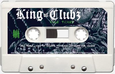 KING OF CLUBZ Cassette tape B