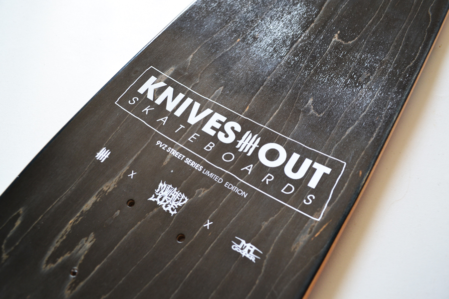 KNIVES OUT SKATEBOARDS Mutilated Judge Edition