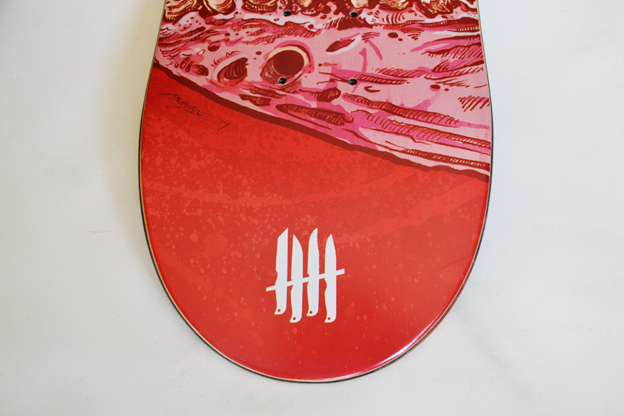 KNIVES OUT SKATEBOARDS Sworn Vengeance / St Hood - Ape Edition