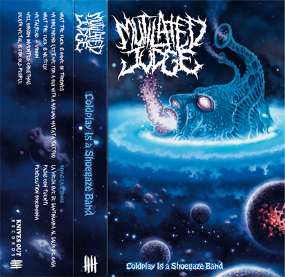 MUTILATED JUDGE cassette tape