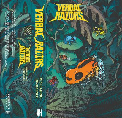 VERBAL RAZORS cassette tape