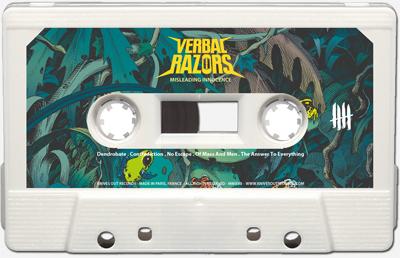 VERBAL RAZORS Cassette tape A