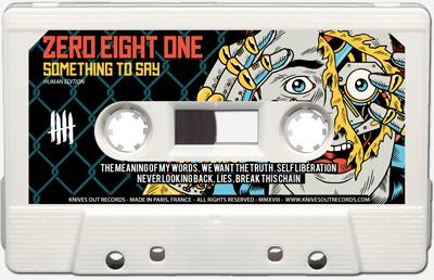 ZERO EIGHT ONE Cassette tape A side