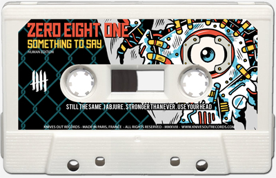 ZERO EIGHT ONE Cassette tape B side