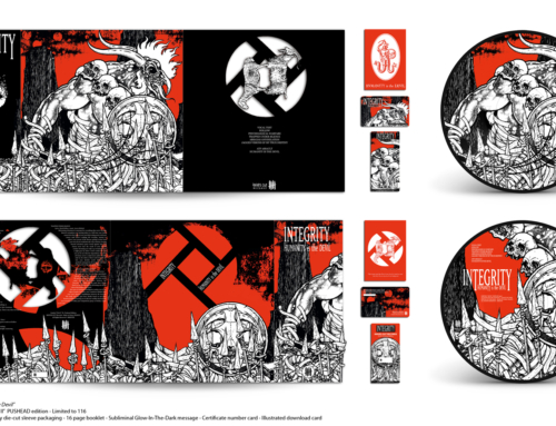 "Deluxe reissue : INTEGRITY ""Humanity is the Devil"" – The PUSHEAD Editions"