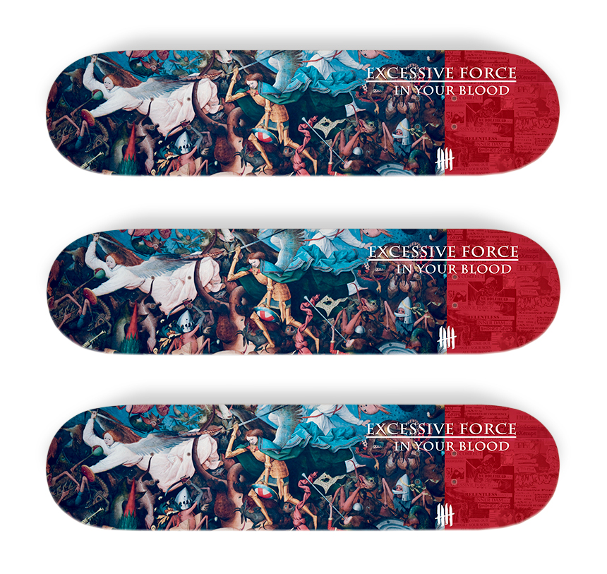 KNIVES OUT SKATEBOARDS Excessive Force