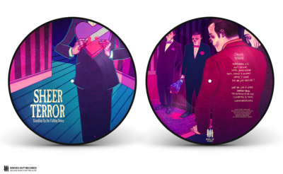 SHEER TERROR Standing Up For Falling Down picture disc vinyl - Rose Edition