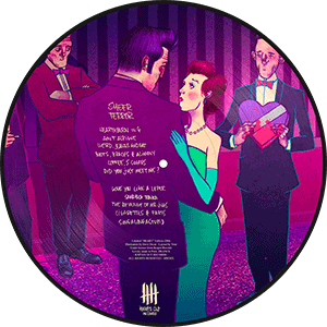 SHEER TERROR Standing Up For Falling Down picture disc vinyl - Heart Edition