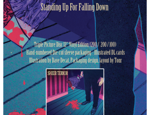"Deluxe reissue : SHEER TERROR ""Standing Up For Falling Down"" – Triple Edition"