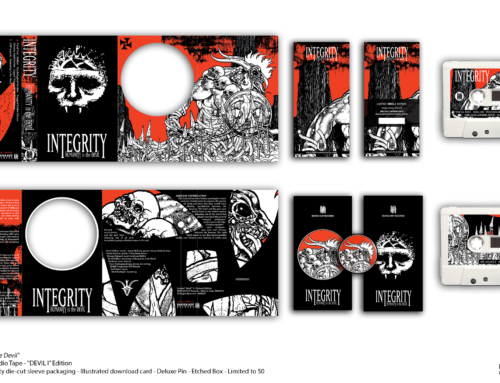 "INTEGRITY ""Humanity is the Devil"" Cassette Tape – ""Devil I"" Edition"