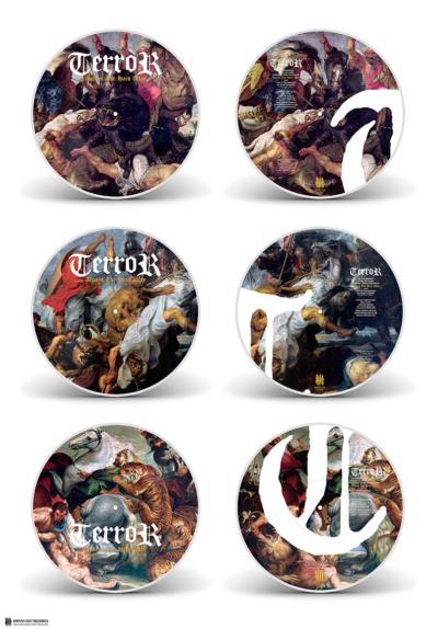 TERROR Always The Hardway triple picture disc vinyl