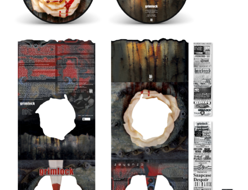 "GRIMLOCK ""Crusher"" Picture Disc Vinyl – ""Steel"" Knives Edition"
