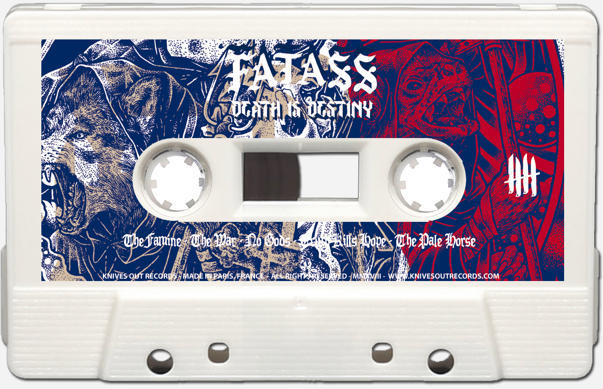FATASS Death is Destiny Cassette Audio Tape