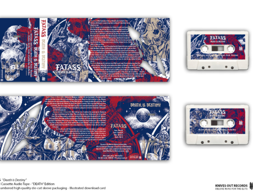 "FATASS ""Death is Destiny"" Cassette Tape – ""Death"" Edition"