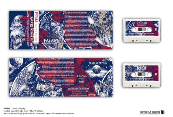 FATASS Death is Destiny Cassette Audio Tape - DEATH Edition
