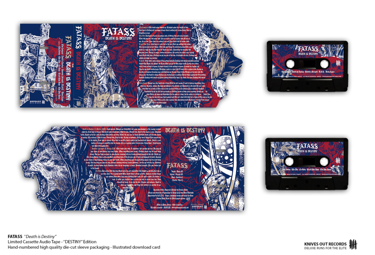 FATASS Death is Destiny Cassette Audio Tape - DESTINY Edition