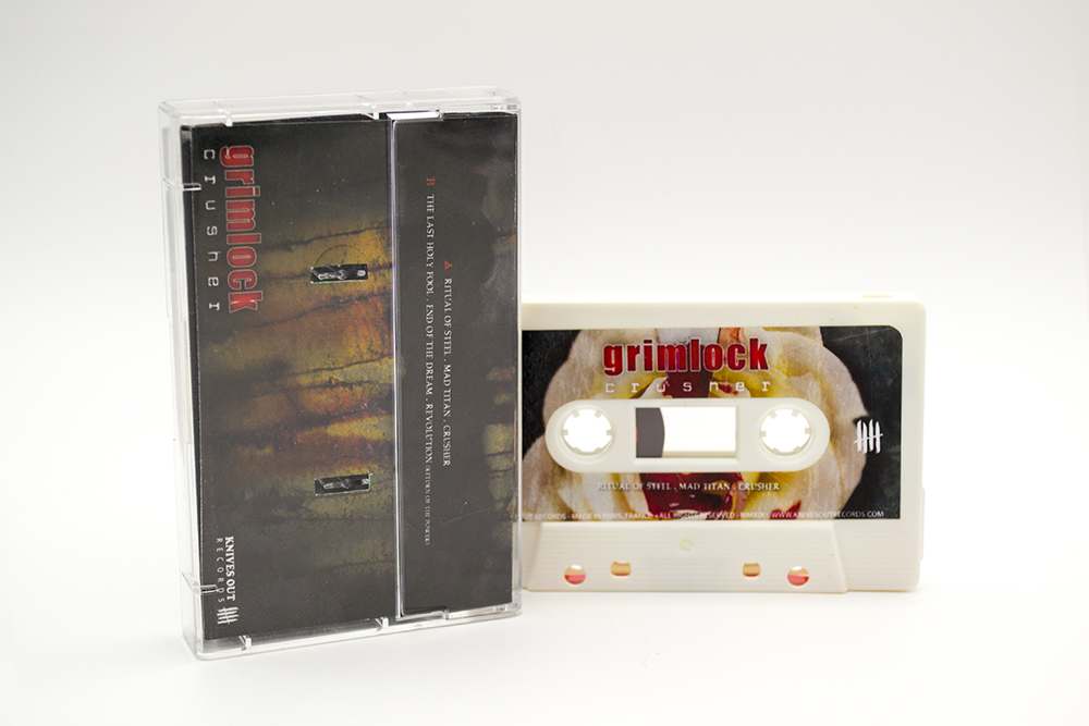 GRIMLOCK Crusher cassette tape edition