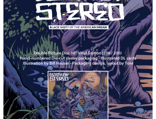 "Deluxe reissue : DEATH BY STEREO ""Black Sheep Of The American Dream"" – Double Picture Disc Vinyl Edition"