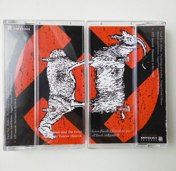 INTEGRITY Humanity is the Devil - Etched Cassette Tape Edition