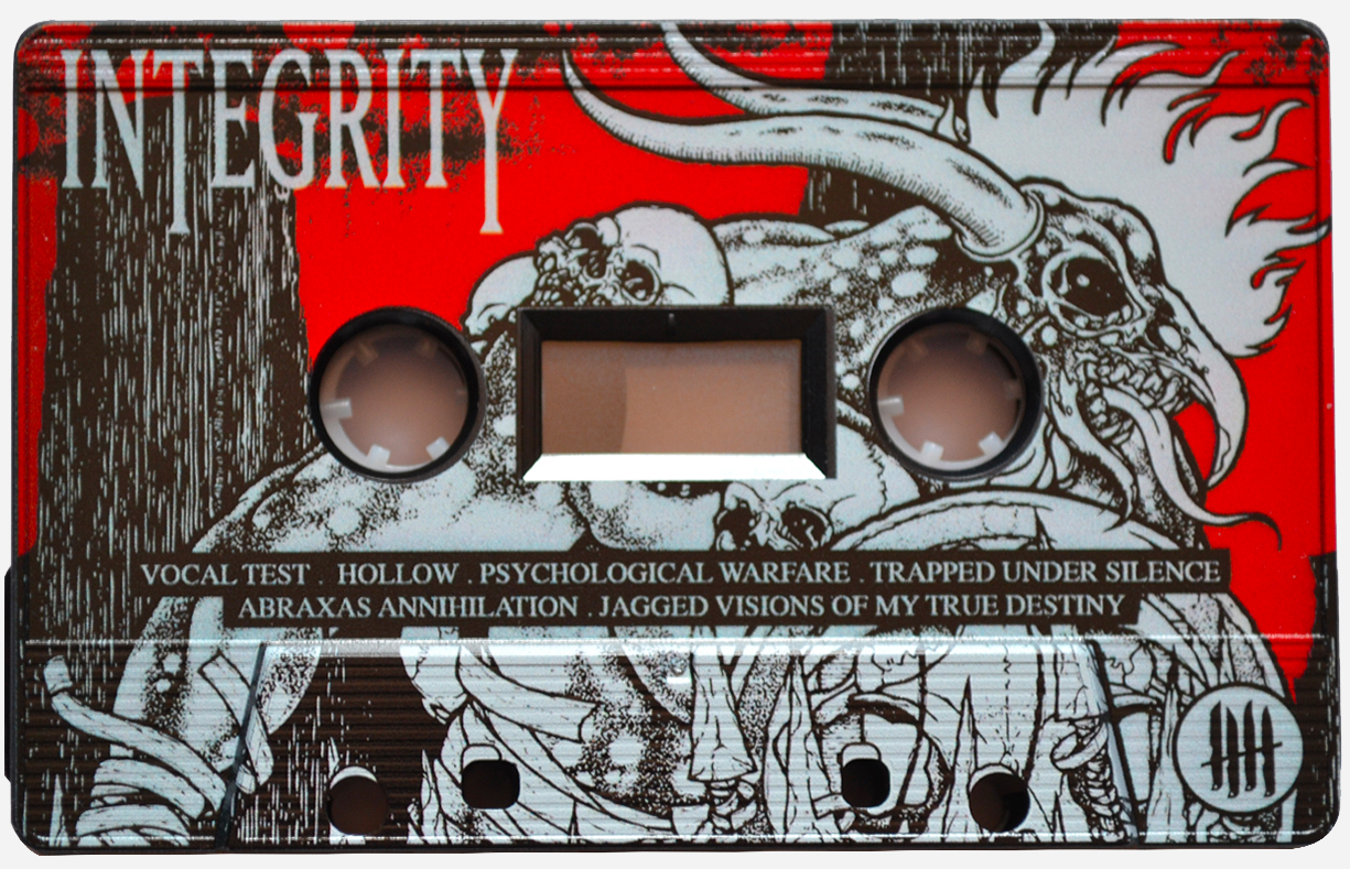 INTEGRITY Humanity is the Devil - Etched Picture Cassette Tape Edition