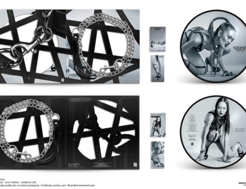 "SPASM ""Pussy De Luxe"" Picture Disc 10″ Vinyl – ""Love"" Edition"