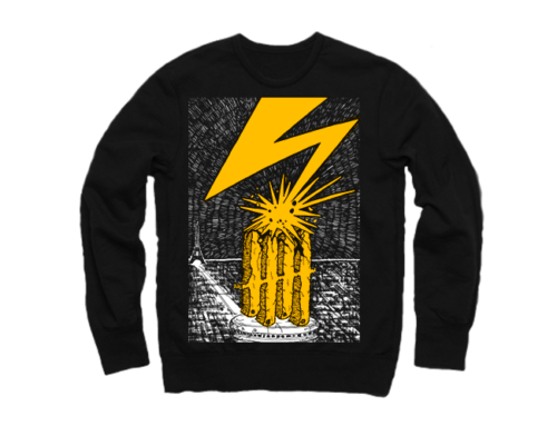 Knives Out records x Bad Brains tribute crewneck / longsleeve