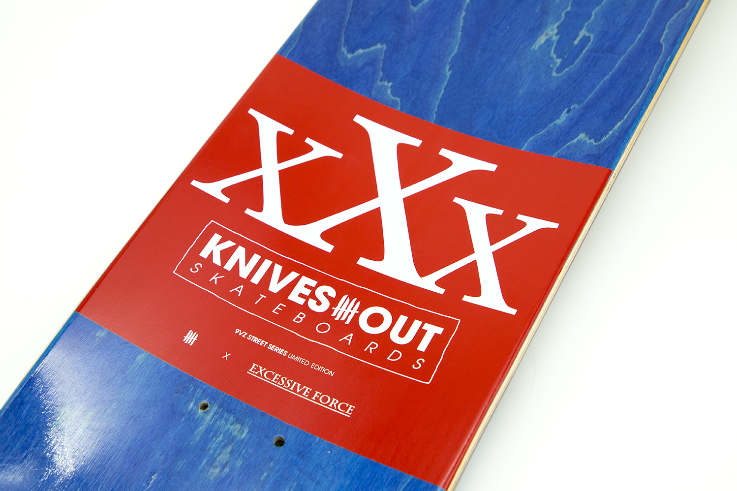 "EXCESSIVE FORCE ""In Your Blood"" Limited Skatedeck Edition"