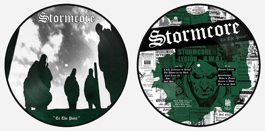 "STORMCORE To The Point Double Picture Disc 12"" Vinyl Edition"