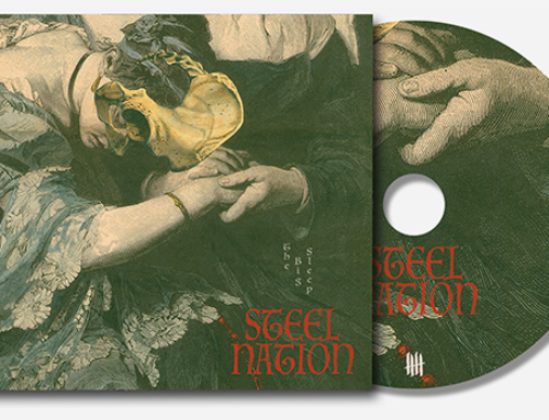 "STEEL NATION ""The Big Sleep"" Deluxe Digipack CD"