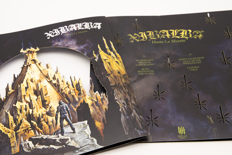 "XIBALBA Hasta La Muerte Double Picture Disc 12"" Vinyl - Muerte Edition"