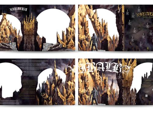 "XIBALBA ""Hasta La Muerte"" Double Picture Disc 12″ vinyl – ""Muerte"" Edition"