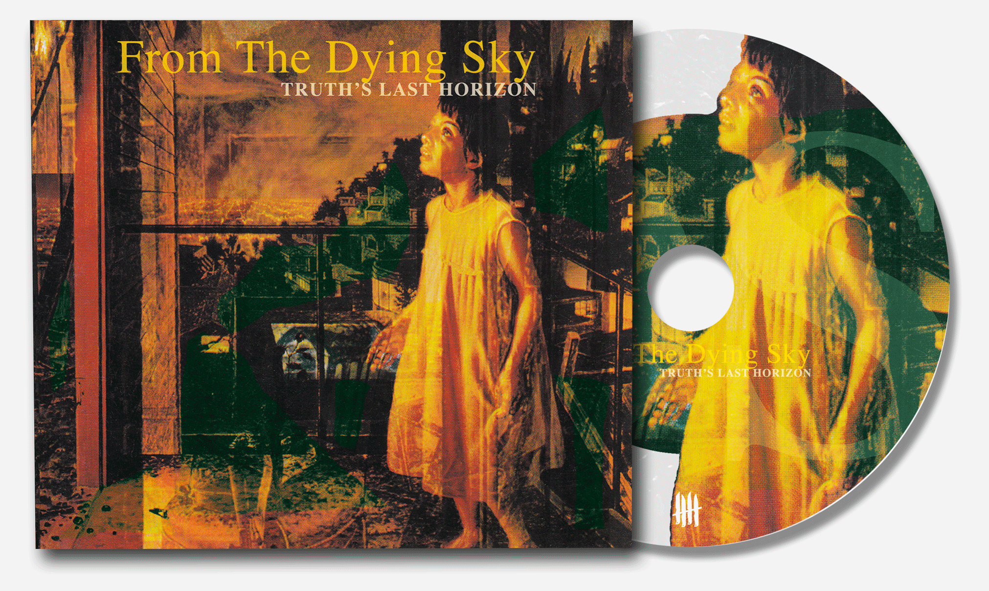 "FROM THE DYING SKY ""Truth's Last Horizon"" digipack CD"