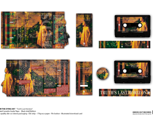 "FROM THE DYING SKY ""Truth's Last Horizon"" Cassette Tape • Black shell Edition"