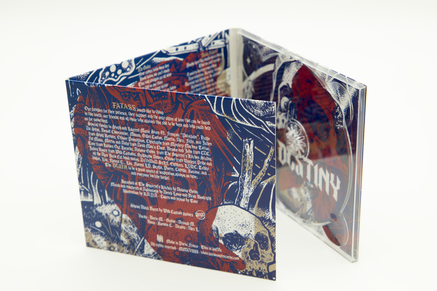 "FATASS ""Death is Destiny"" Digipack CD"