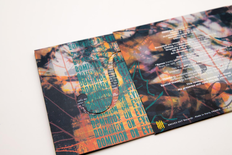 """SENTENCE """"Dominion On Evil"""" Deluxe Digipack CD"""