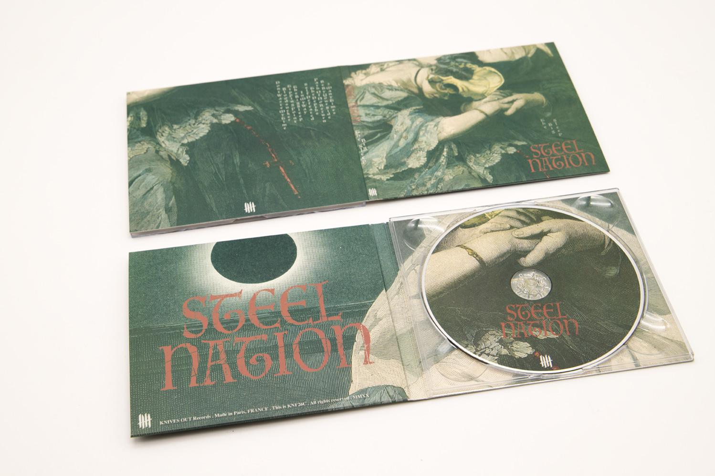 "Steel Nation ""The Big Sleep"" digipack CD"