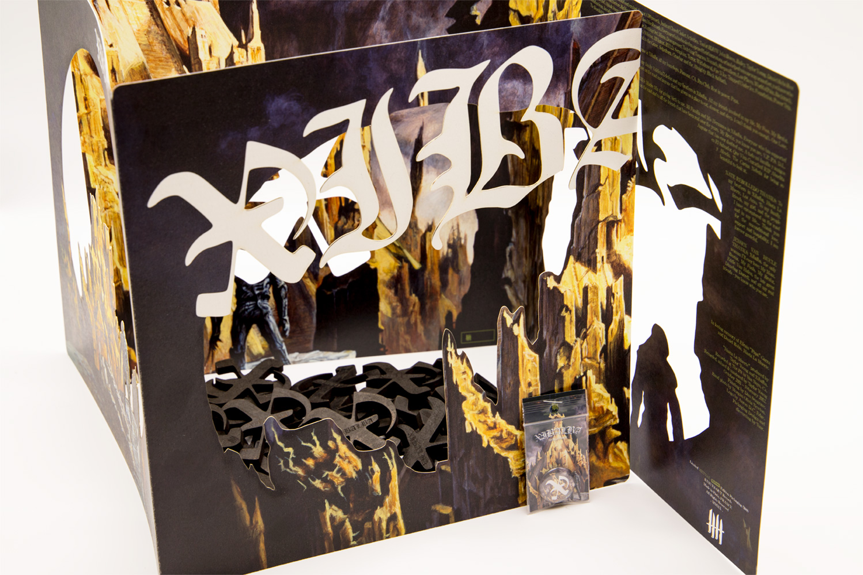 "XIBALBA Hasta La Muerte Double Picture Disc 12"" Vinyl - Metnal KNIVES Edition"