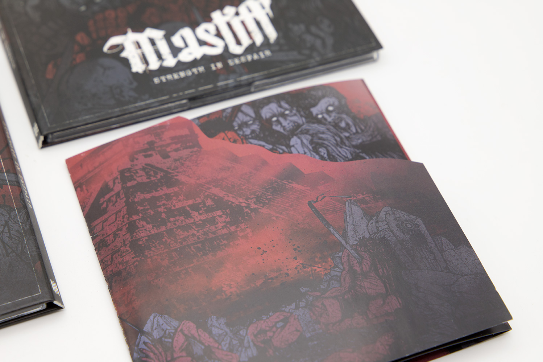 """MASTIFF """"Strength In Despair"""" Digipack CD"""