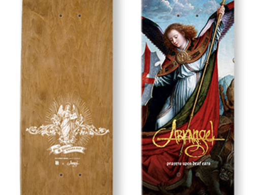 "ARKANGEL limited ""Prayers Upon Deaf Ears"" skatedeck Edition II"