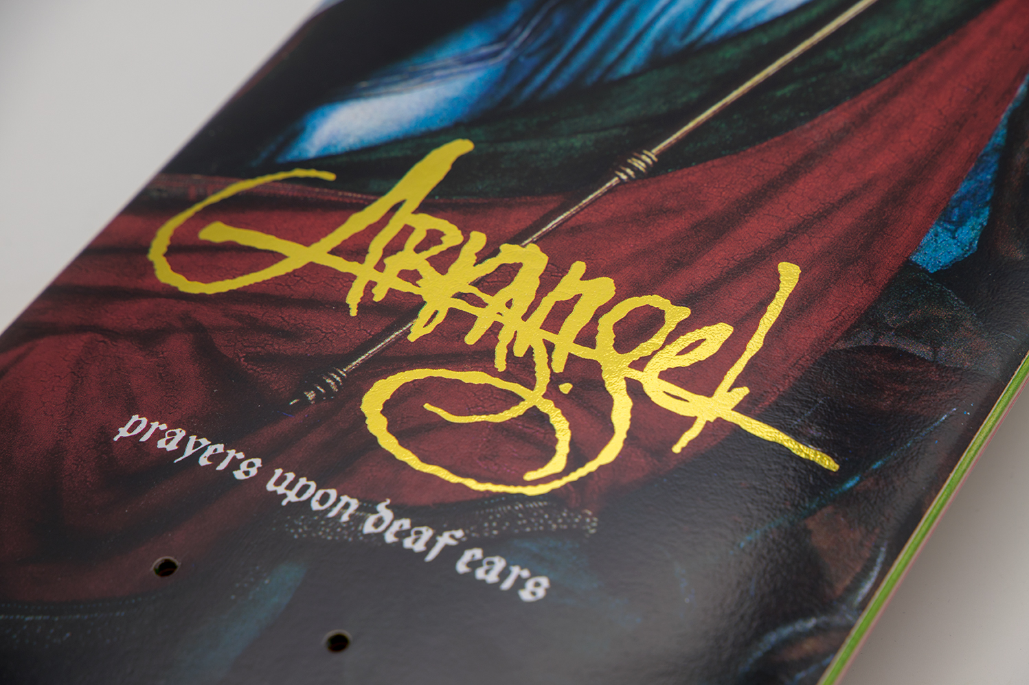 "ARKANGEL ""Prayers Upon Deaf Ears"" Skate Deck Edition II"